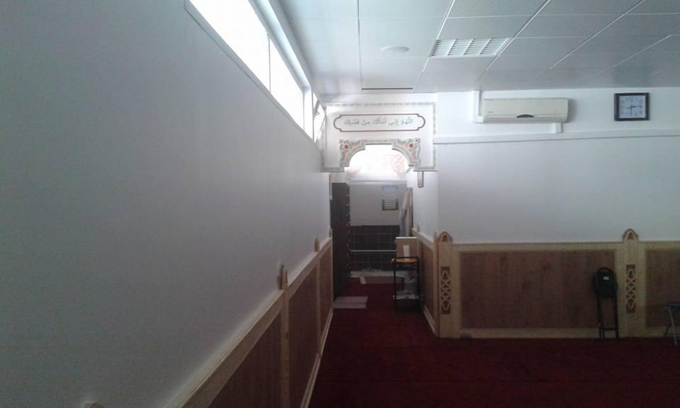 salle de priere homme
